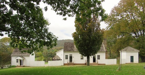 Three outbuildings at Ash-Lawn Highland