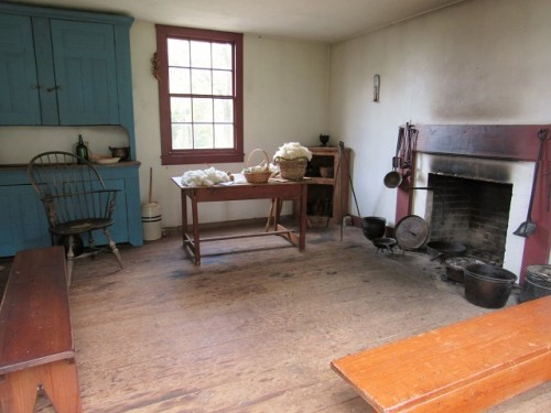 Slave quarters at Ash-Lawn Highland
