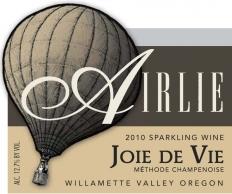 2010 Airlie Winery Joie De Vie