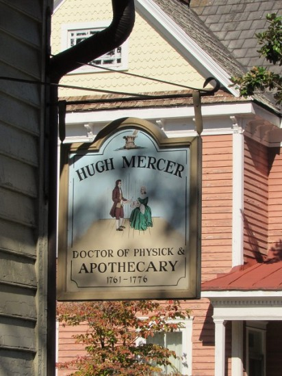 Hugh Mercer owned the shop for 15 years.