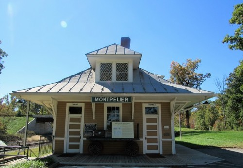The Montpelier Train Station - built 1910
