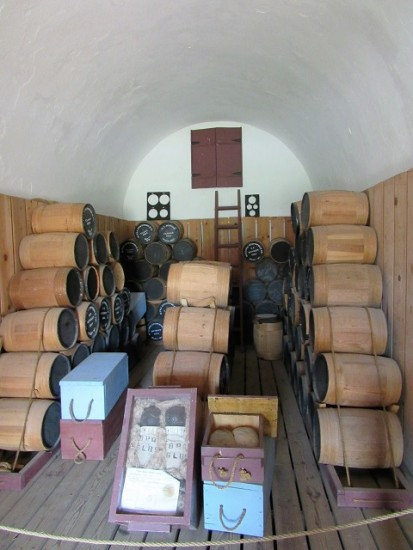 The Powder Magazine at Fort McHenry