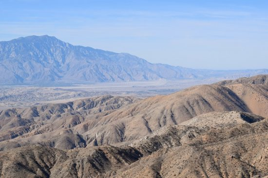 The view of the Coachella Valley