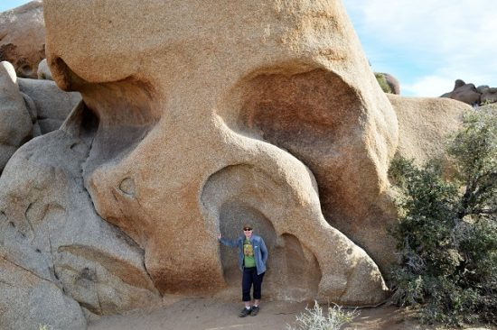 Me with Skull Rock