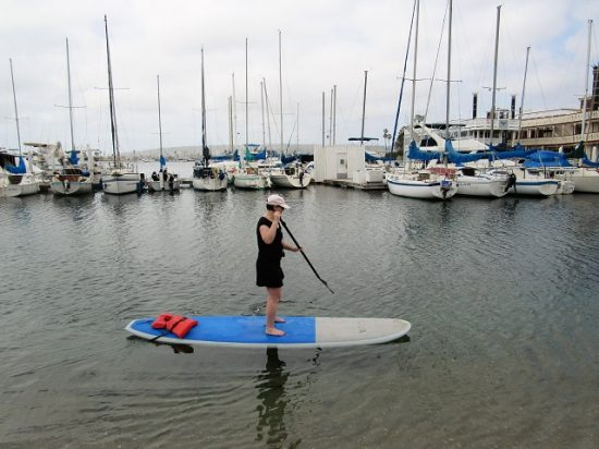Me! Stand Up Paddleboarding!