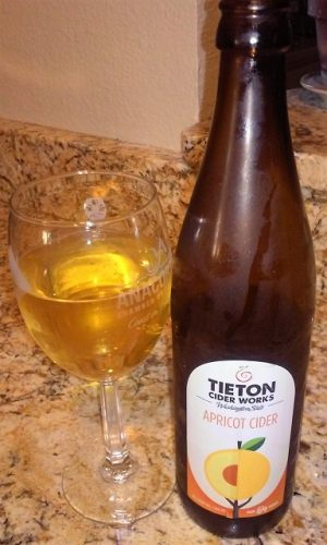 Apricot Cider by Tieton Cider Works