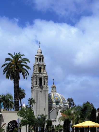 The Bell Tower at Balboa Park