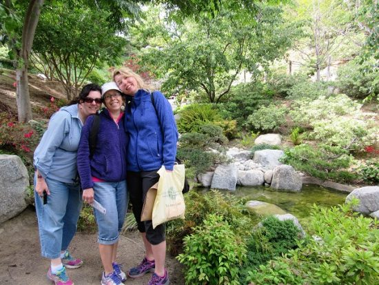 My girls at the Japanese Garden. Aren't they adorable?