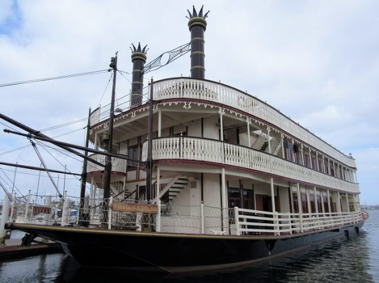 Guest can take a ride on a historic steamboat