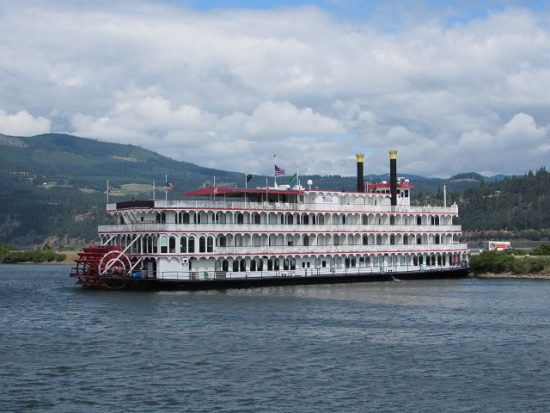 Paddle Wheel River Boats on the Columbia River