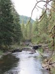 The White Salmon River - so peaceful