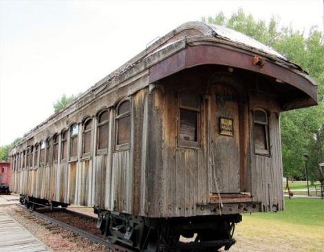 An unrestored Pullman Car