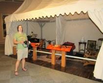 Buffalo Bill's traveling tent