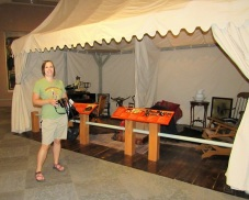 Buffalo Bill's traveling tent