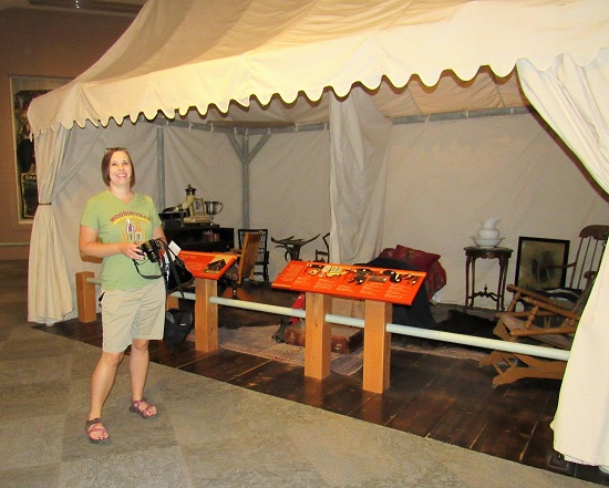 Wine and History Visited & Buffalo-Bill-Tent | Wine and History Visited