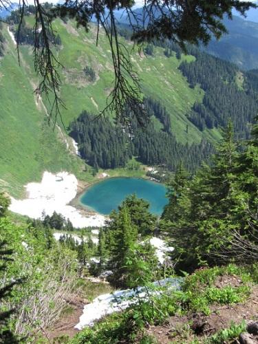 Another view of Sauk Lake