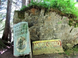 Entrance Signs at Monte Cristo