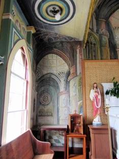 Painted Church - showing trompe l'oeil