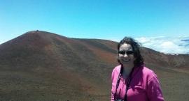Me and Mauna Kea - more snow!