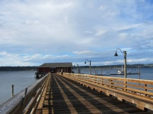 The public dock in Coupeville