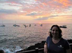 Me at Sunset at the Sheraton Kona