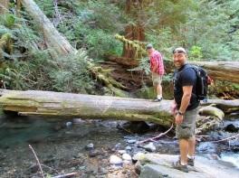 Brent and Joel at Murhut Falls