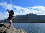 Lani at Lake Cushman