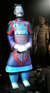 Virtual replica of a brand new figure