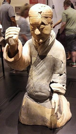 A Terracotta figure