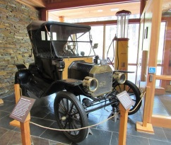 An antique Model T