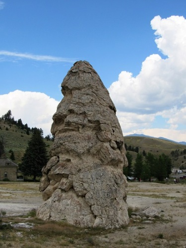 Liberty Cap - an extinct thermal feature