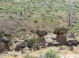 Oregon's Balancing Rocks
