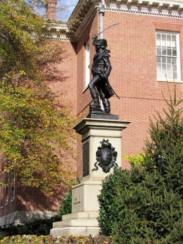 Baron Johann deKalb, a Revolutionary War Hero