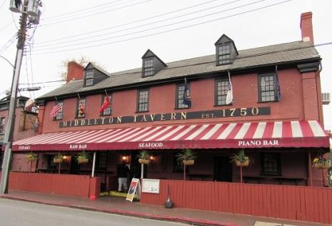 The Middleton Tavern - 1750!