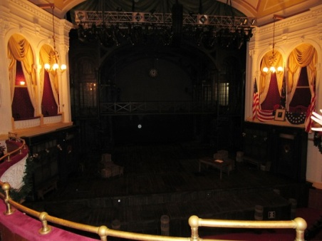 Ford's Theatre stage