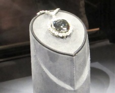 The Hope Diamond - it is much, much prettier in person