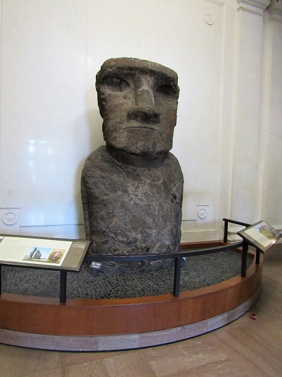A Moai, from Easter Island, Chile