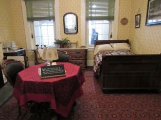 The room where Stanton met with the cabinet
