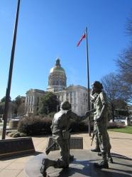 Capitol-War-Statue