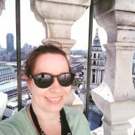 Me on top of London's St. Paul's Cathedral