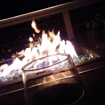 Fire on the deck