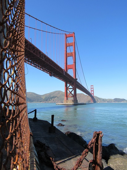 The Golden Gate at Fort Point