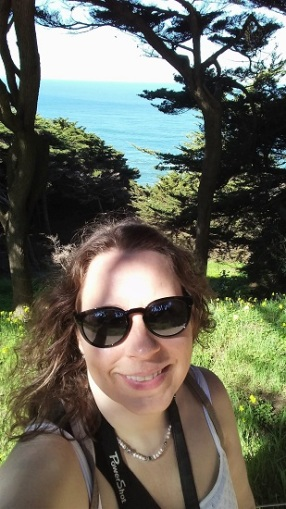 Me at the Golden Gate National Recreation Area