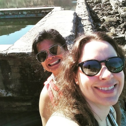 Me and Lelani at the Sutro Baths
