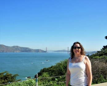 Me and the Golden Gate Bridge