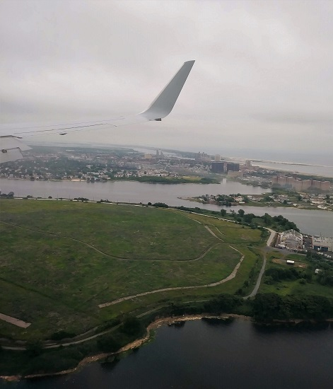 Coming into New York