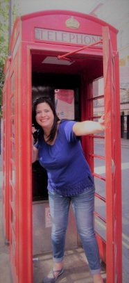 Taryn loved the telephone boxes