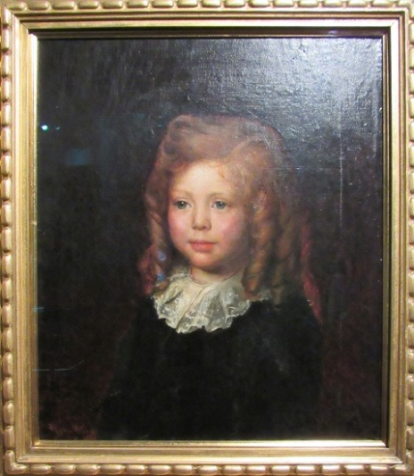 A portrait of Churchill as a child