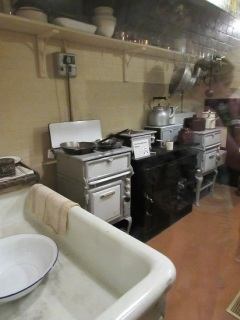 A kitchen in the bunker