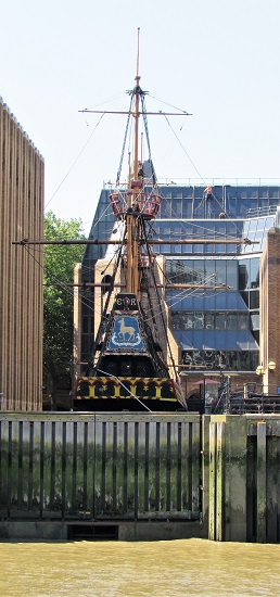 The Golden Hinde - a full-sized reconstruction